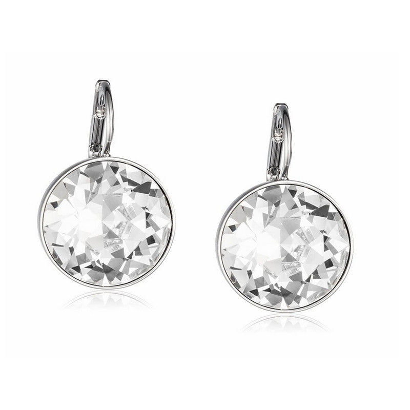 Clear Crystal from Swarovski White Gold Plated Earrings Bella