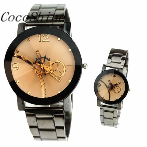 CocoShine A-733  Leisure Creative Gifts Quartz Gear Lovers Watch wholesale Free shipping