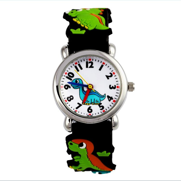 dinosaur 3D Cartoon 2016 NEW Free Shipping kids Watch cute The best
