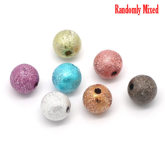 DoreenBeads At Random Stardust Spacer Beads 8mm, sold per packet of 30