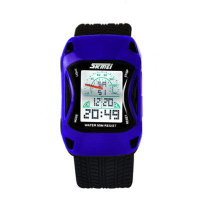 Colors Kids Watches Silicone Jelly Waterproof Swim Sport