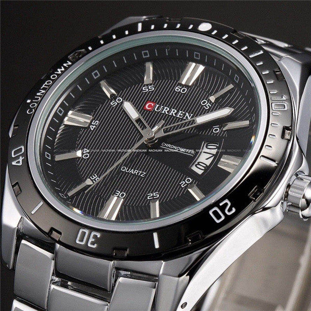 CURREN Luxury Top Brand Analog sports Wristwatch Display Date Men's