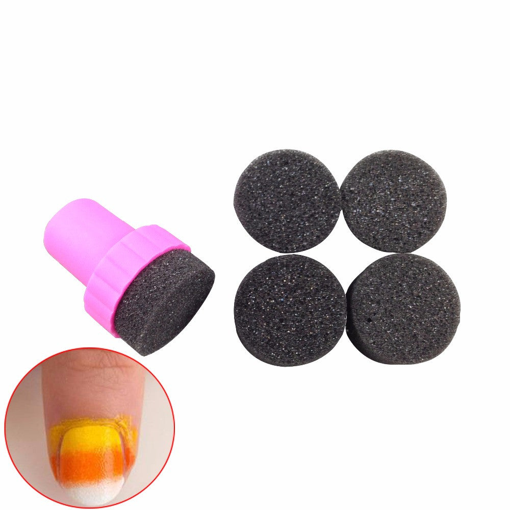 DIY Creative Nail Art Soft Sponges Tools Accessories Supply For