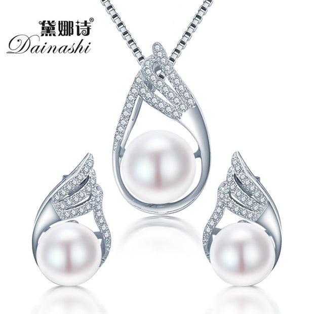 Dainashi 2016 Punk Sterling Silver Earring and necklace pendant
