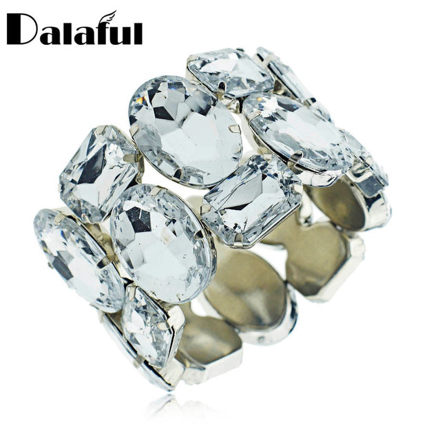 New Arrival Crystal Bracelets & Bangles Rhinestone Beads Stretch