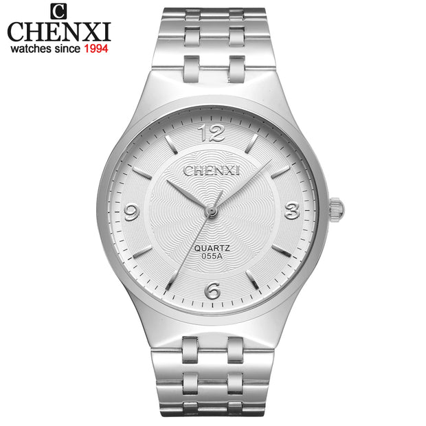 CHENXI Brand Men Quartz Lovers' Watch Stainless steel Casual