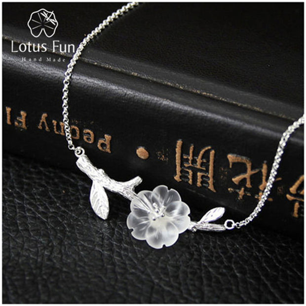 Lotus Fun Genuine 925 Sterling Silver Handmade Designer Fine Jewelry