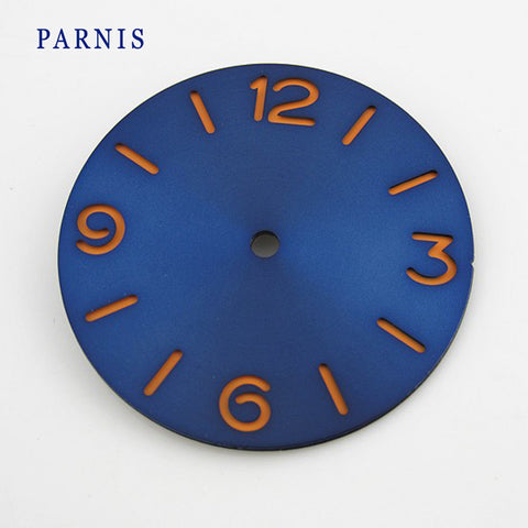 Watch Accessory Part 38.73mm Watch Face Dial for Parnis Men's Mechanical Watches Fit 6497, 6498 Cheap Bulk Wholesale