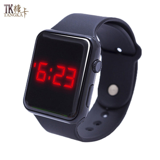 Fashion sports watch a variety of colors optional digital display