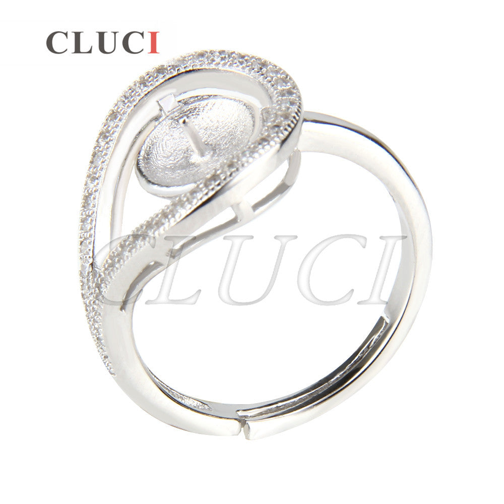 CLUCI nice women rings jewelry 925 sterling silver rings accessories