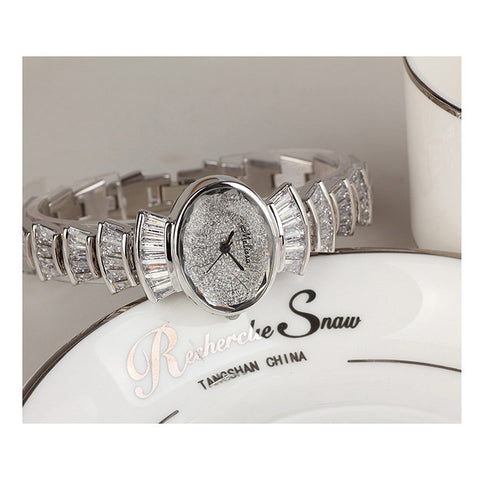 Top Luxury Melissa Lady Women's Watch Elegant Rhinestone Fashion Hours