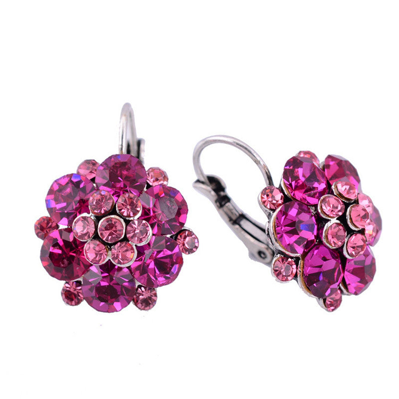 Clip On Earrings For Women Fashion Accessories Gold Silver Plated