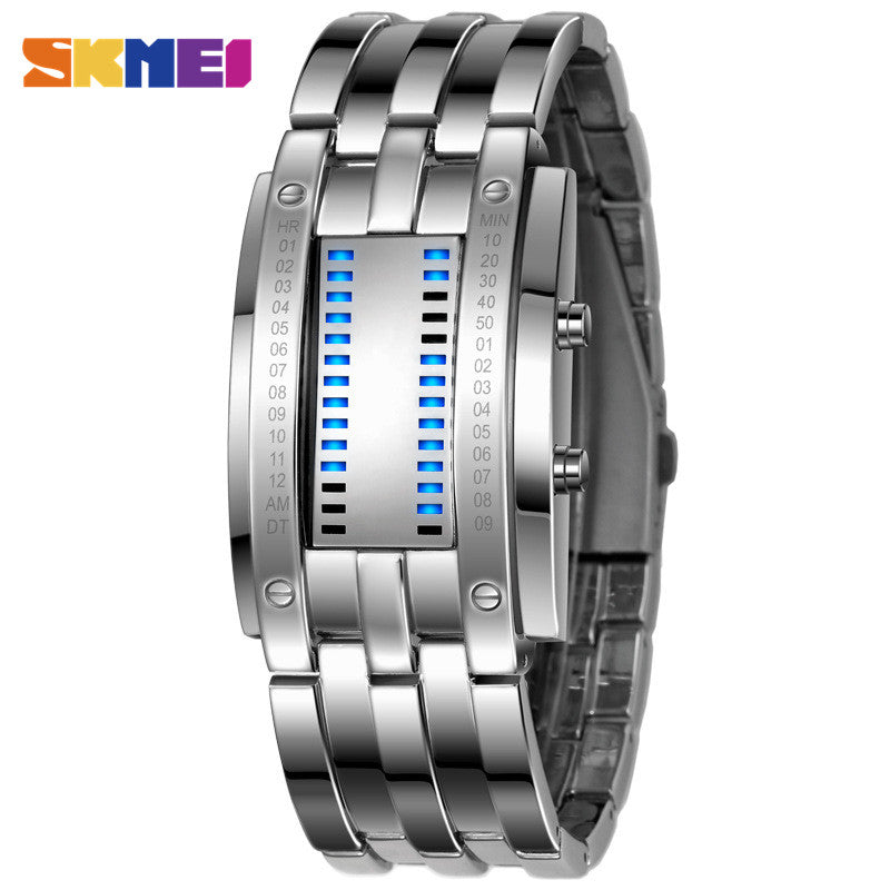 SKMEI Lover's Popular Men Fashion Creative Watches Digital LED Display