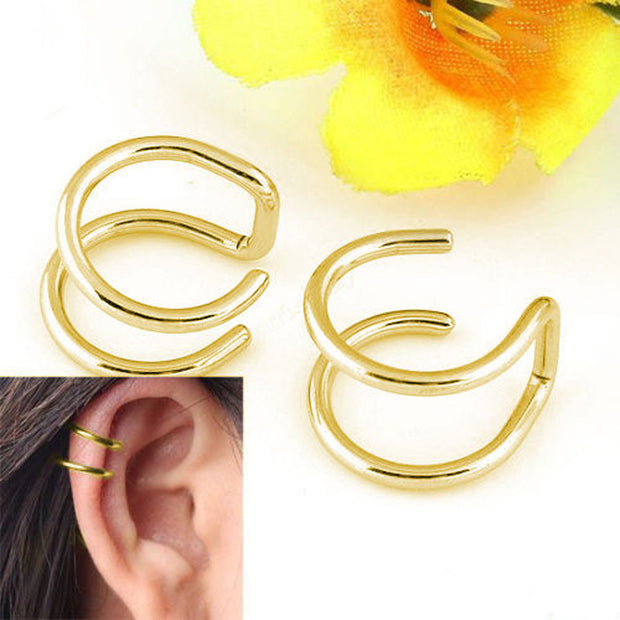 Clip-on Earrings no pierced  earcuff Ear Clip clip earrings without