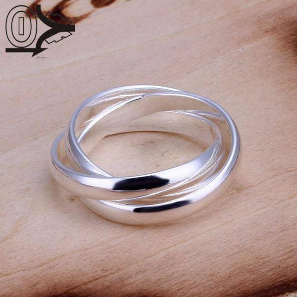 Christmas Gift Wholesale Silver-plated Ring,Silver Fashion