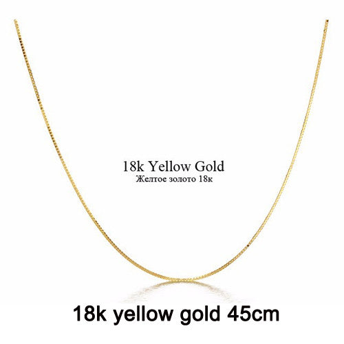 [DAIMI] Genuine 18K White Gold Yellow Gold Chain Cost Price Sale