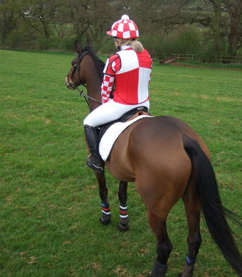 Event shirt - red and white with horse_0.jpg