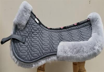 Kieffer Merino Fleece Half Pad Grey