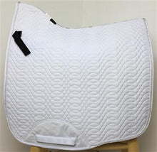 Kieffer Dressage Saddle Pad White with Cord