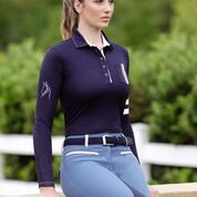 Kwesta Ladies Dawn Long Sleeve Polo