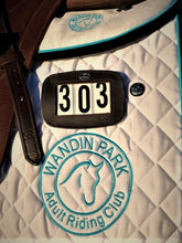 Bridle/Saddle Blanket Leather Number Holders