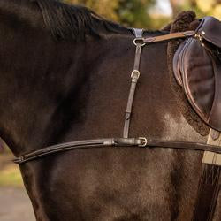 Mark Todd 4 Point Breastplate Havana