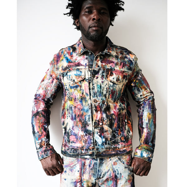 An Ideation Painted Jacket