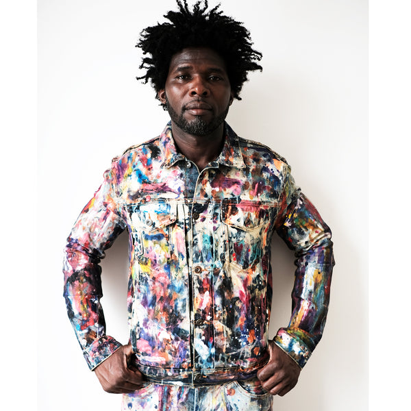Ideation Painted Jacket