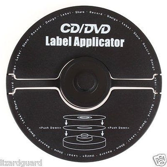 APPLICATOR CD/DVD LABEL Merax 176-027 40mm center hole labels from label sheet - AMPLE OUTLET