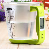 Digital Measuring Cup and Scale With LCD Display & Temperature Measurement
