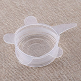 Silicone Stretchable And Reusable Universal Suctions Lids 6pcs/Set