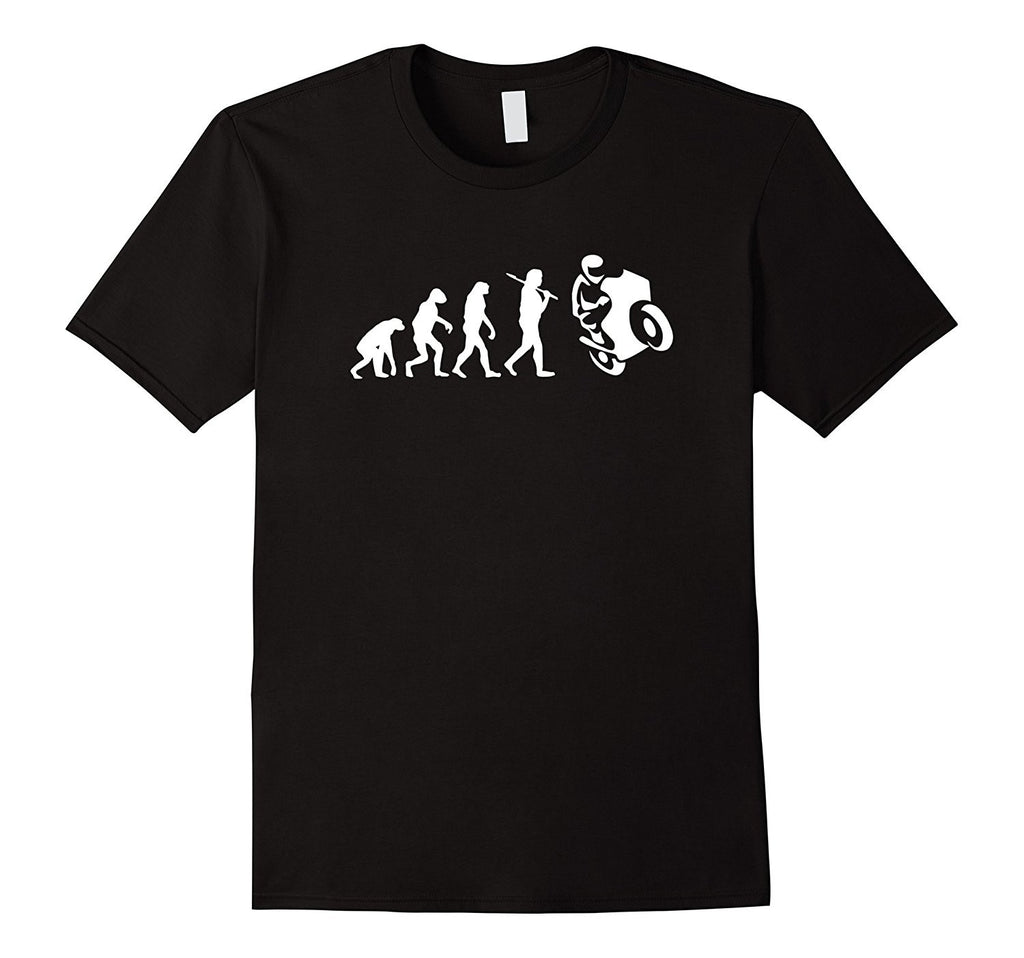 Evolution Of Motorbike Shirt