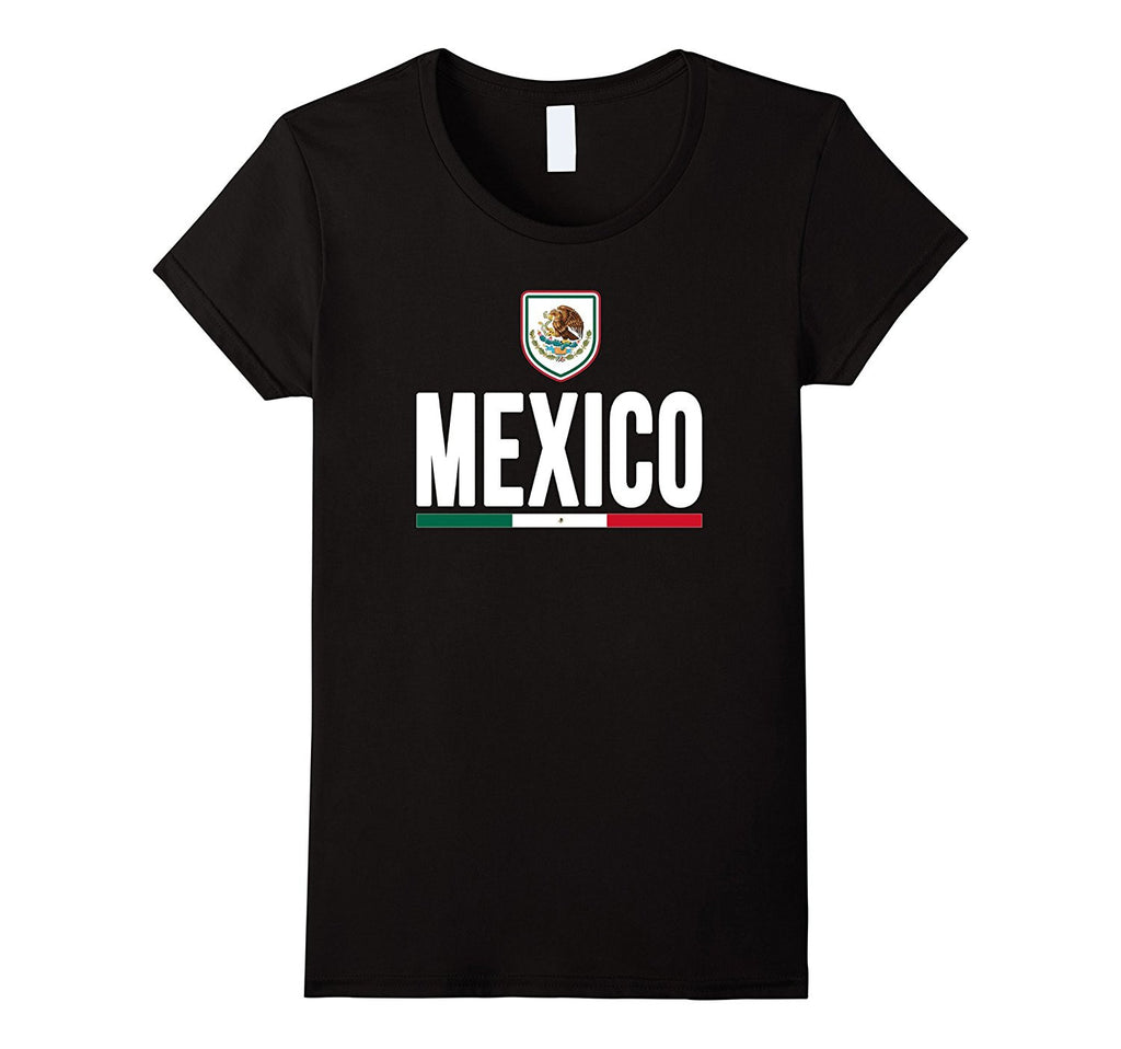 MEXICO T-shirt 2016 Mexican Coat of Arms Flag Tee