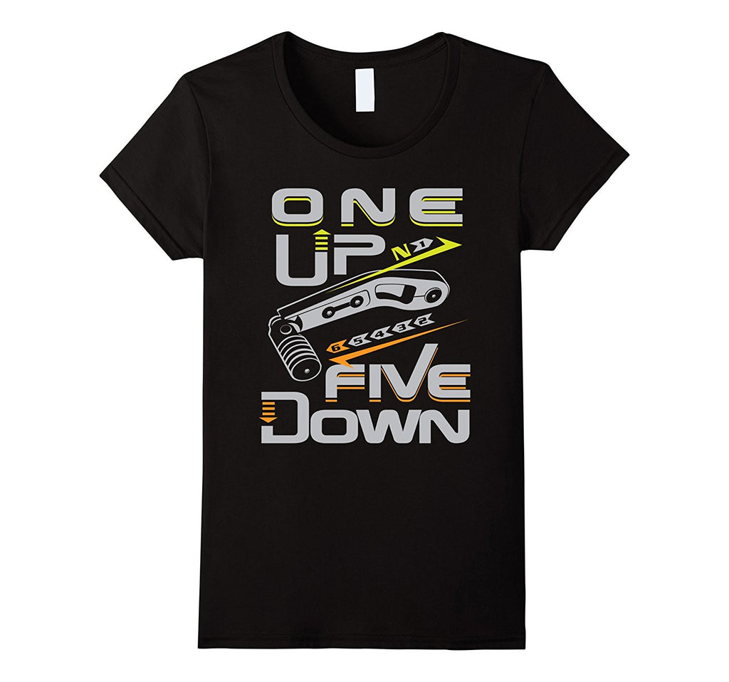 Biker Shirt - Biker Gear - 1N23456 - One Up Five Down Shirt