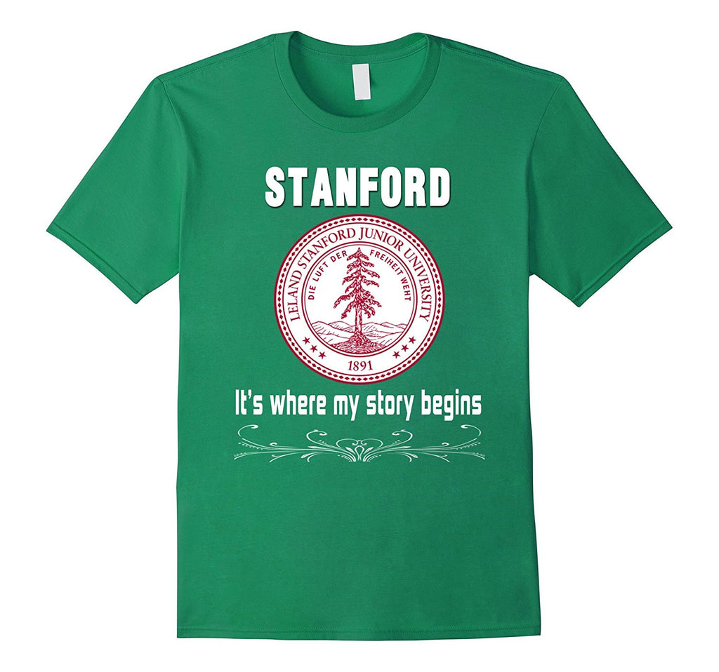 Stanford t shirt it where my story begins