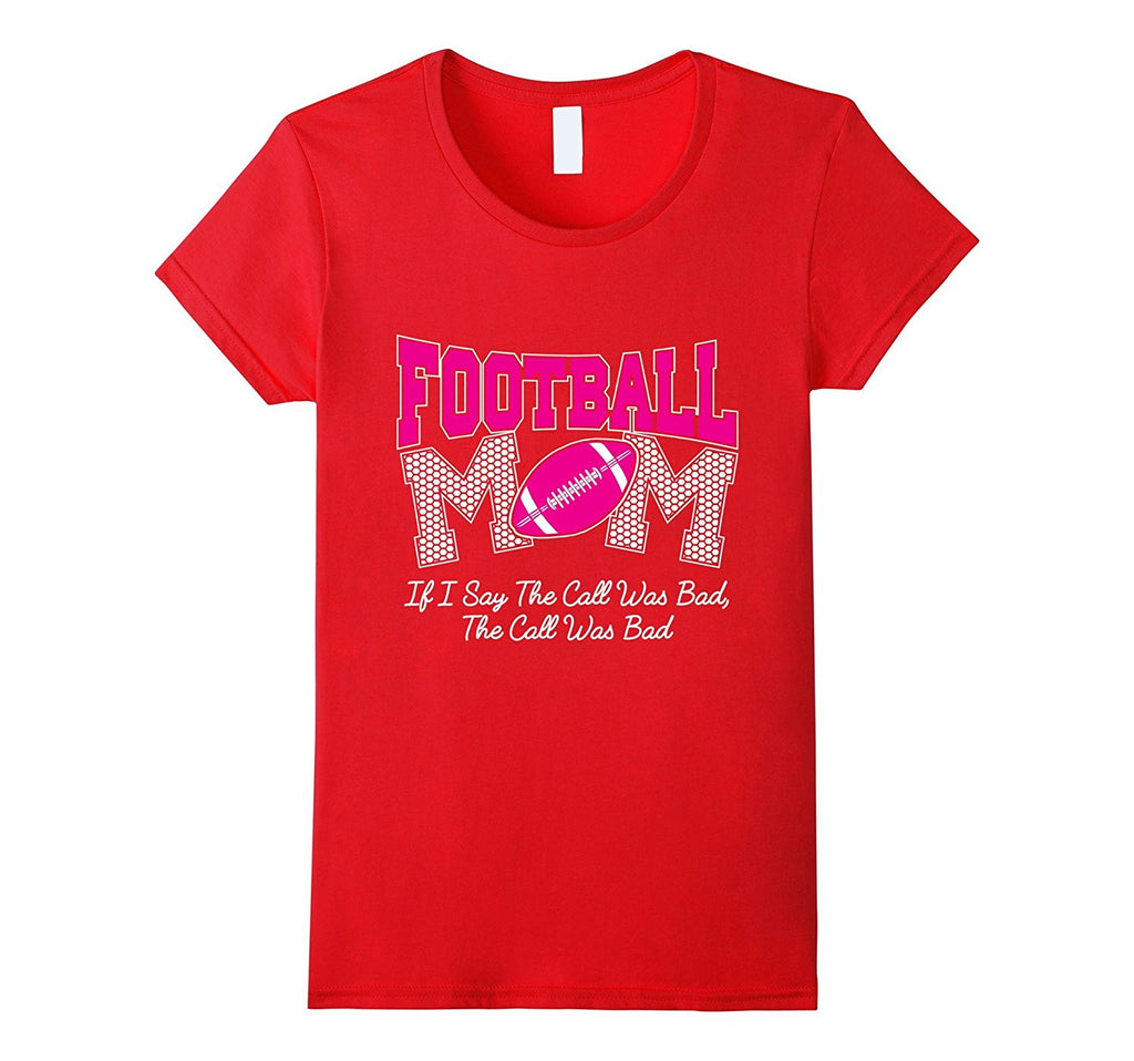 Womens Football Mom T-Shirt