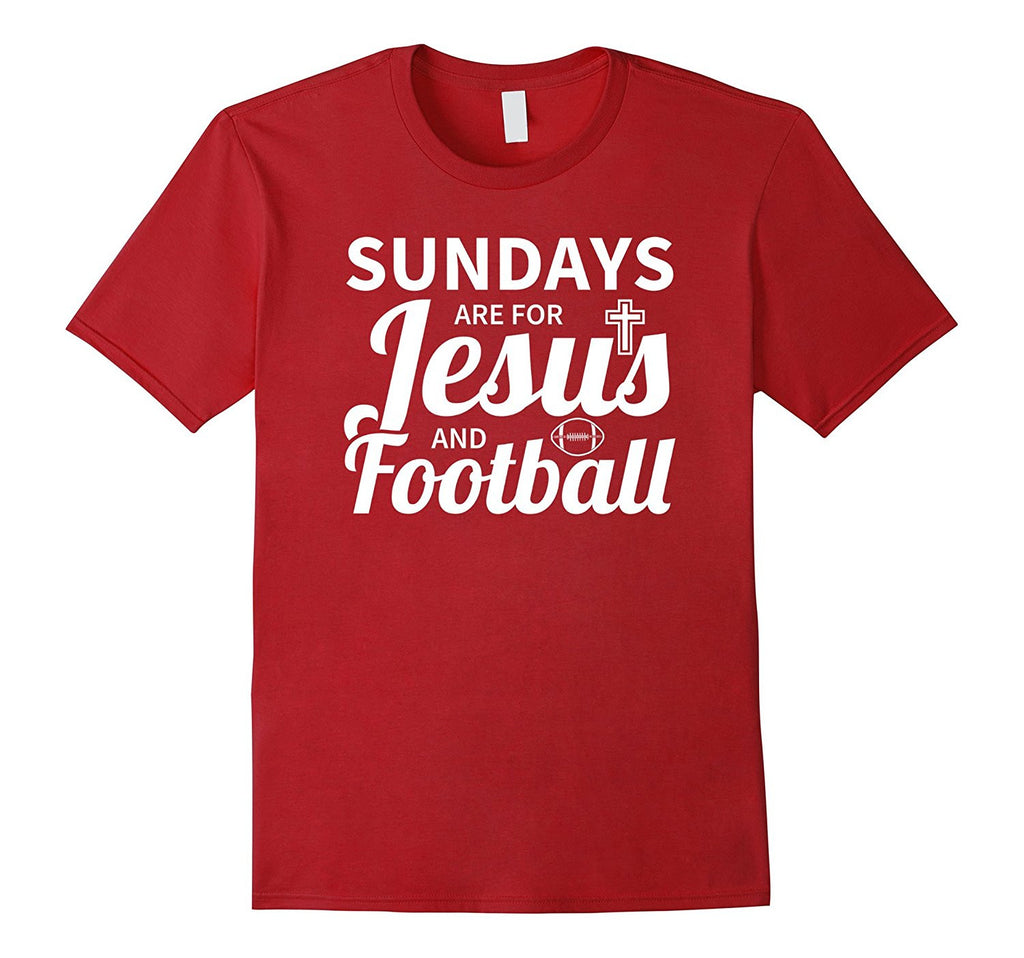 Sundays Are For Jesus And Football Shirt - Soccer Shirt