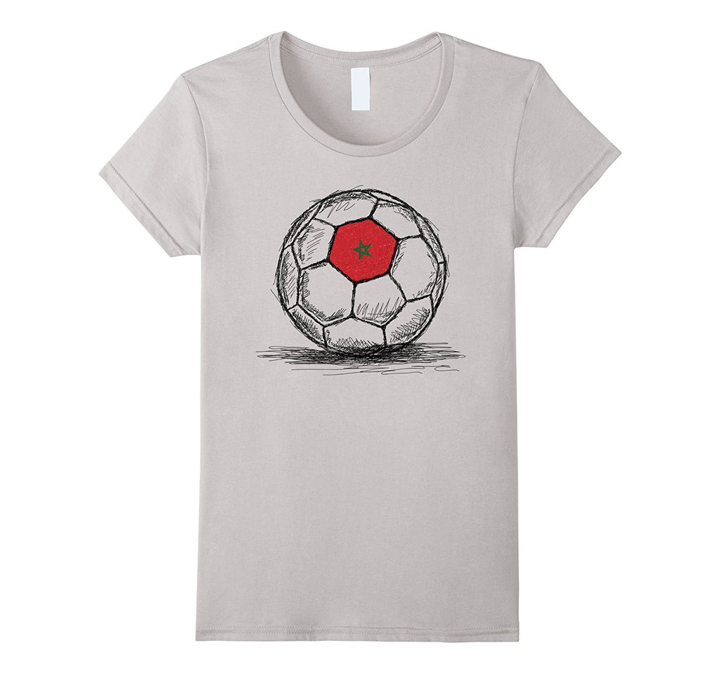 Morocco Moroccan Soccer Football Flag T-Shirt
