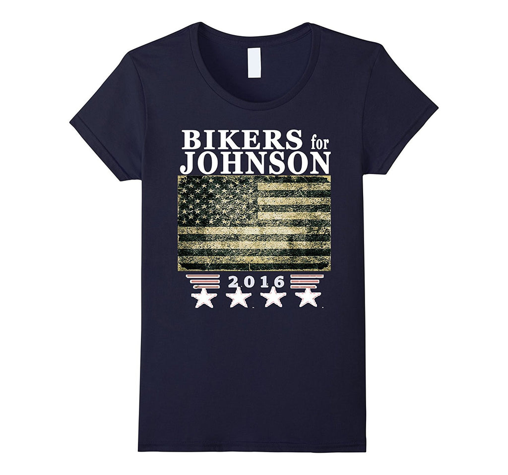 Bikers for Johnson Shirt - Original Motorcycle Club T-shirt
