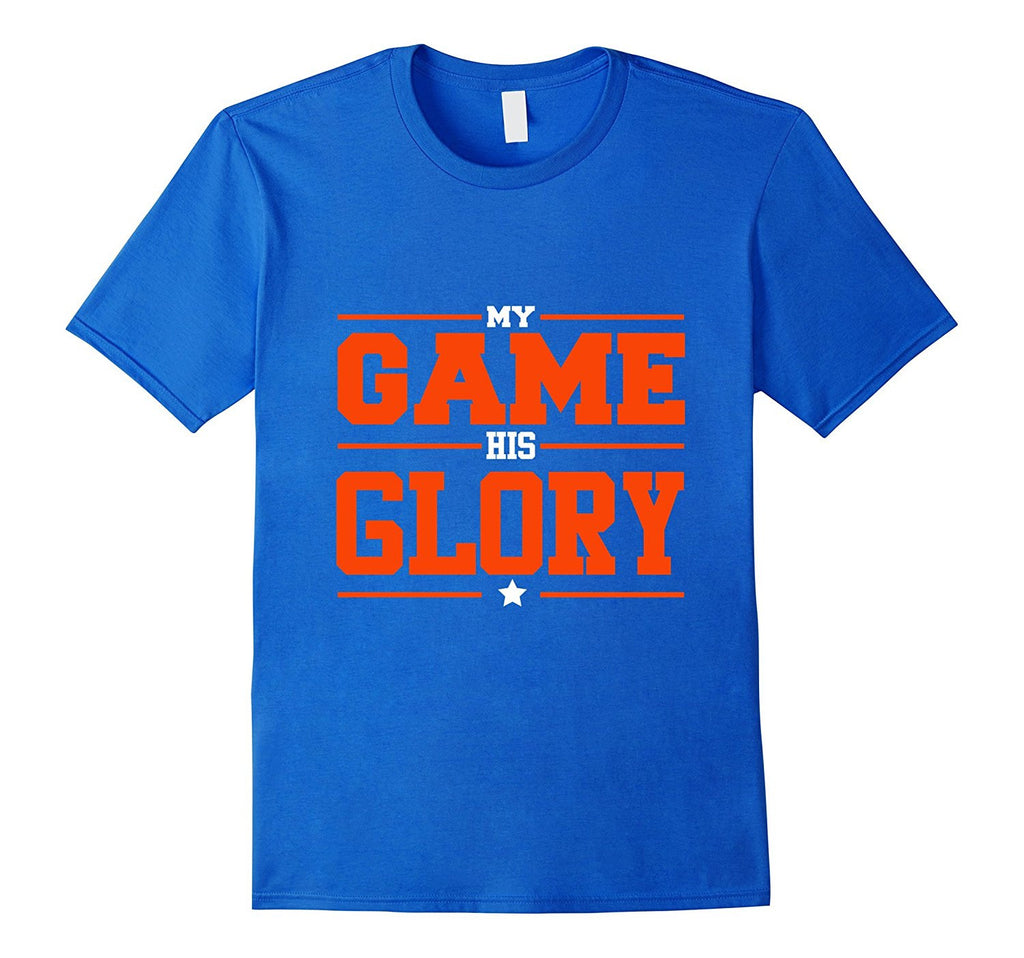His Game My Glory Christian Sports T-shirt