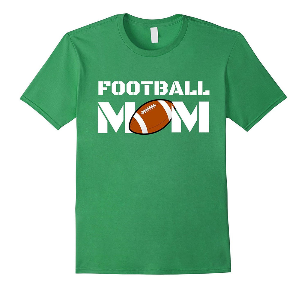 FOOTBALL MOM Trendy Cool Tshirt for Moms