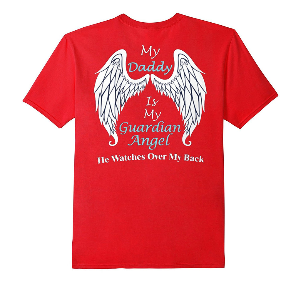 In Memory of Dad Guardian Angel Heaven T-Shirt