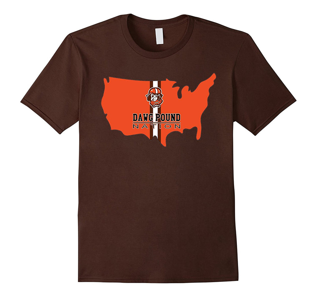 Dawg Pound Nation Cleveland Football T-Shirt