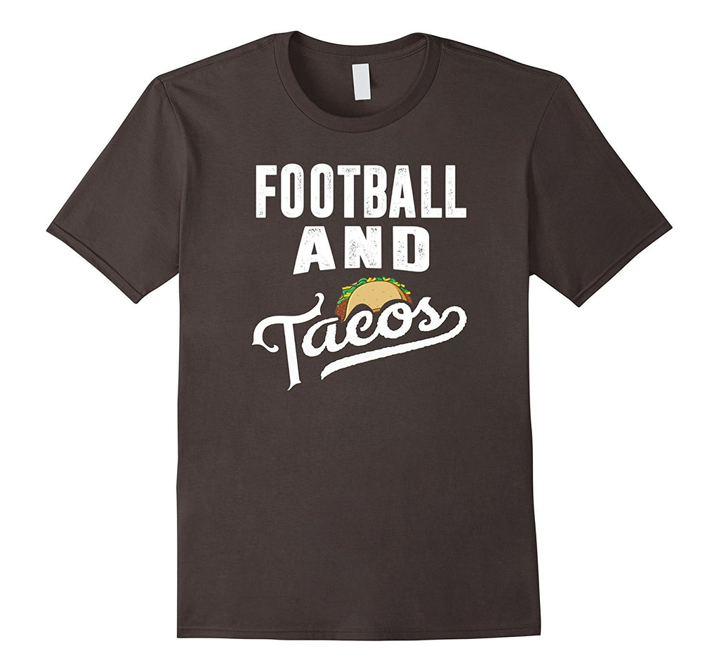 Football and Tacos Best Funny Sports Taco Lover T-Shirt