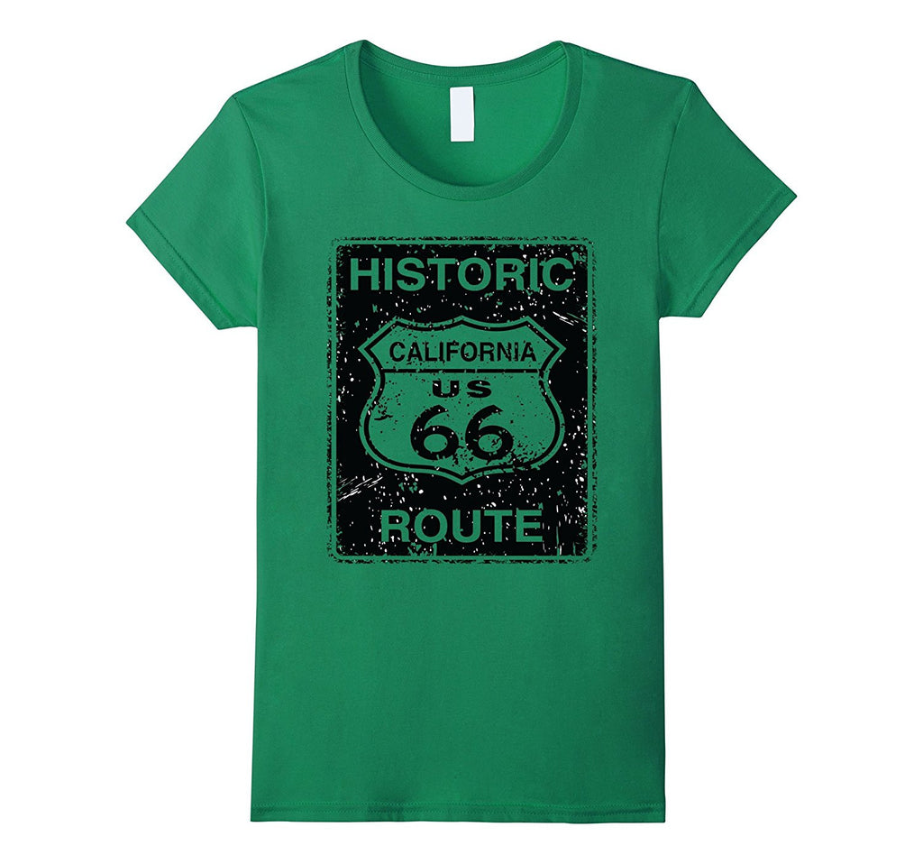 California Historic Route US 66 T-shirt