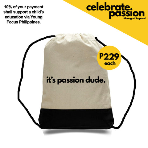 Celebrate Passion String Bag - Its Passion Dude