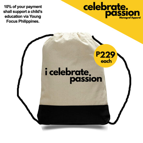 Celebrate Passion String Bag - I Celebrate Passion