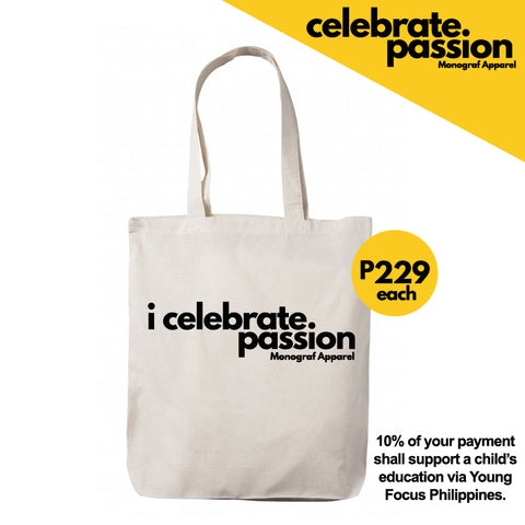 Celebrate Passion Tote Bag - I Celebrate Passion