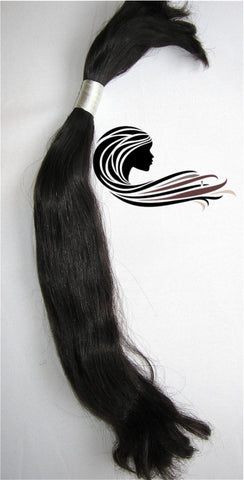 Bulk Hair (unwefted) - BVH Virgin Cambodian Wavy/Straight  Collection