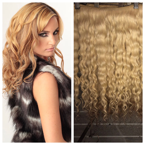SALE BVH Remy Blonde Wavy/Curly Collection